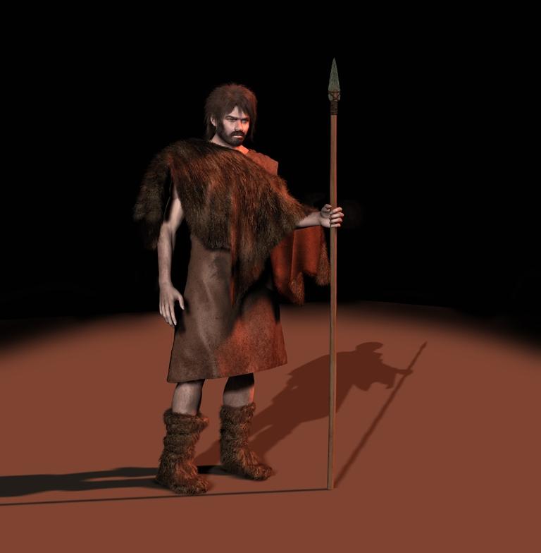 El hombre en el paleolítico