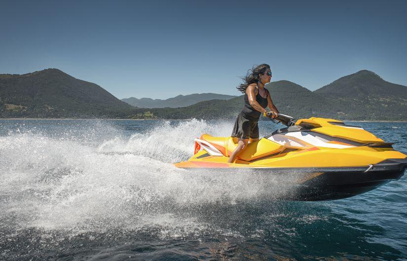 Pilotar una moto de agua