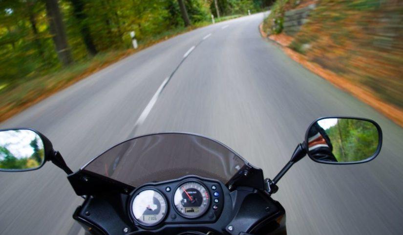 Entre Madrid y Segovia en moto