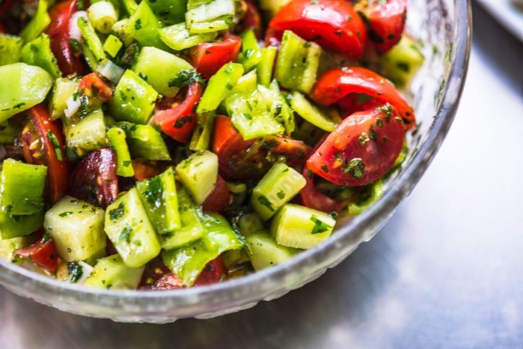 Recetas de ensaladas refrescantes