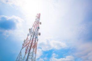 Torre para captar la señal 5G