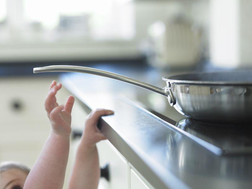 Medidas especiales en la cocina para bebés