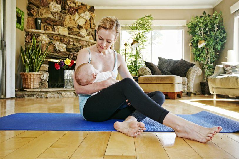 Cómo recuperar figurar tras el parto