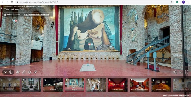 Visita virtual Museo Dalí