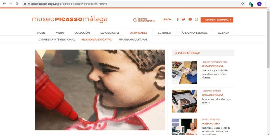 Visita virtual Museo Picasso