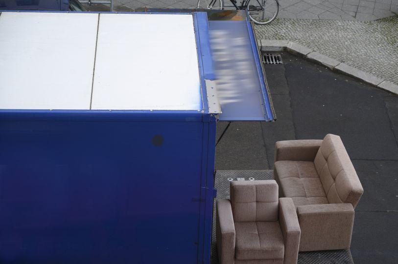 Mudanza de sofás