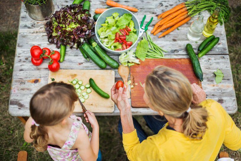Conseguir que los niños coman pescados y verduras