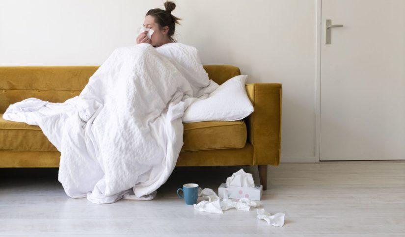 Diferenciar gripe, covid, catarro