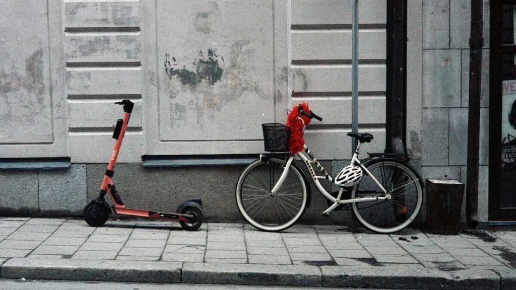 bicicleta vs patinete electrico